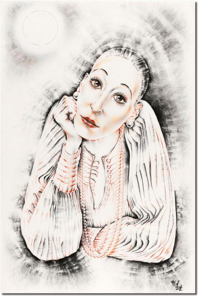 Anjelica Huston by Vildorius
